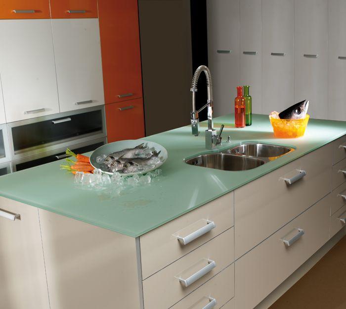 Encimeras de cocinas docrys cocinas kitchens delight - Cocinas de cristal ...