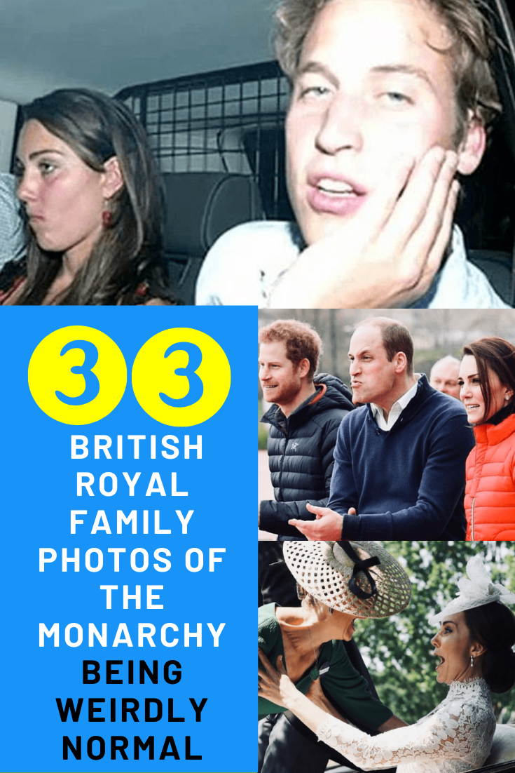 Best Funny Pins 33 British Royal Family Photos Of The Monarchy Being Weirdly Normal The British royals have tons of strict rules they must follow — but that doesn't mean they don't goof off every once in a while. 4