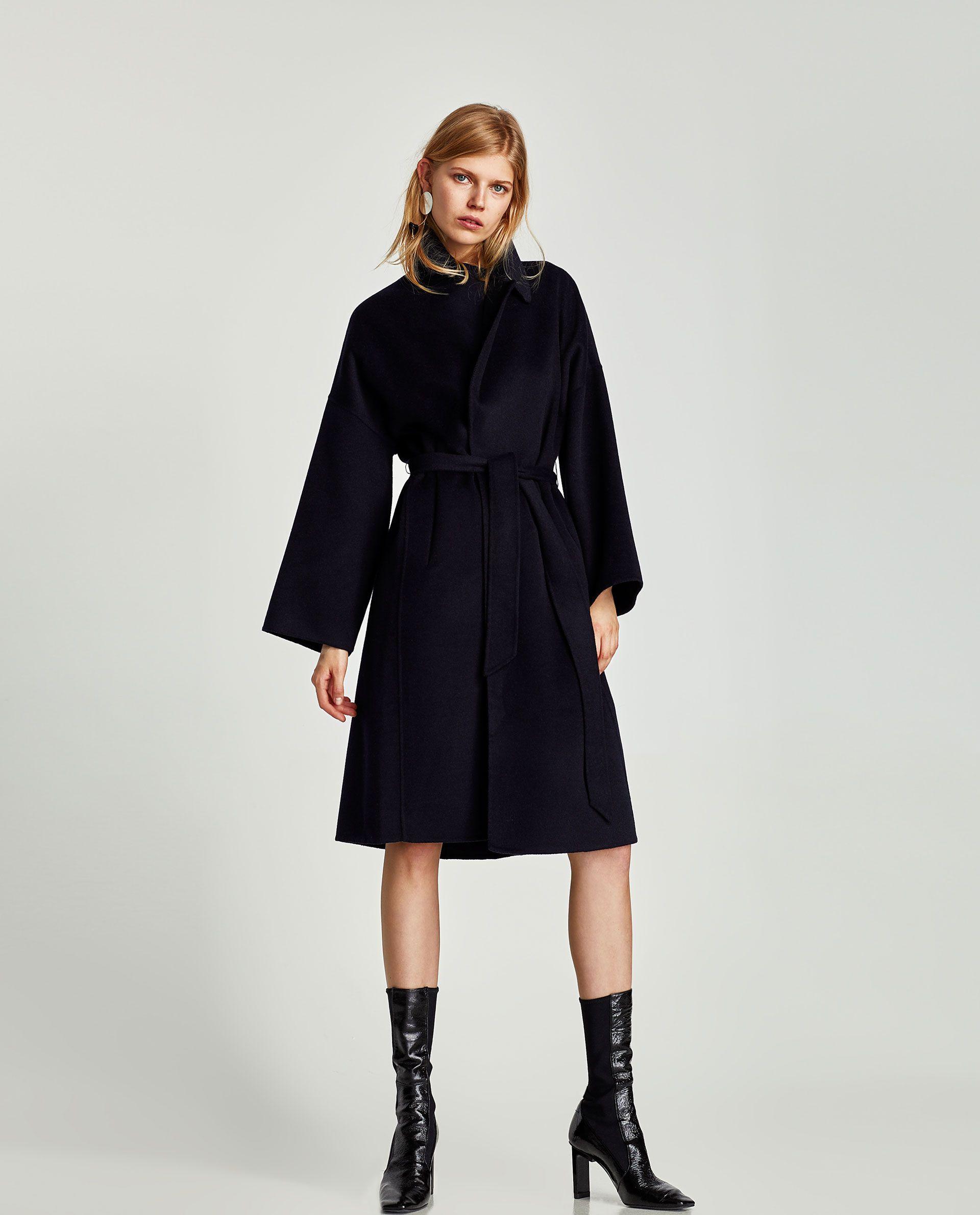 Cinturón Abrigo Pinterest Coat Long Kleding Largo Dames Wool OwqC5Rxq