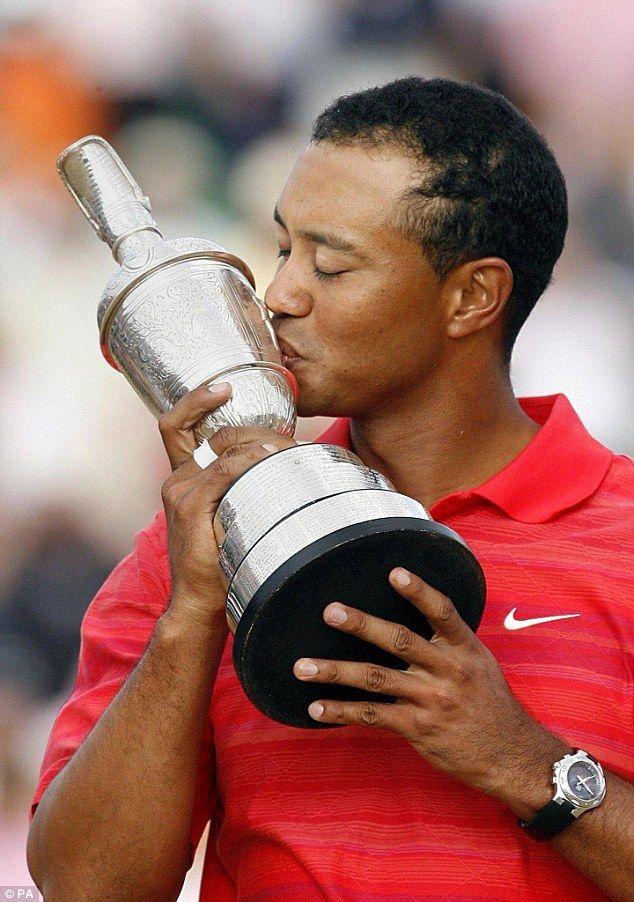 Tiger Woods British Open 2006. World Rating 1. British