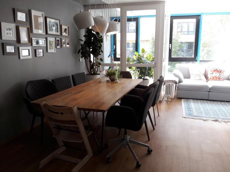 Eine Schöne Stuhl Kombination! An Diesem Esszimmertisch Kann Sich Jeder  Seinen Lieblingsstuhl Selbst Aussuchen