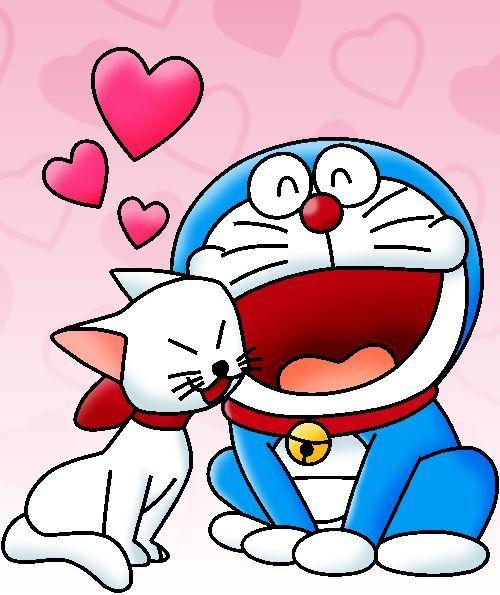 Doraemon Love Kitty by cuddlesnam on DeviantArt