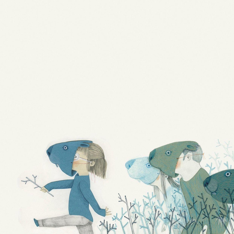 """Esther Gómez illustration for """"Pequeño Buzo Somnoliento"""", written by Alex Nogués."""