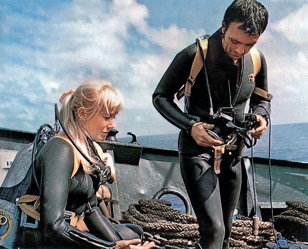 The Unsinkable Valerie Taylor Scuba girl wetsuit, Scuba