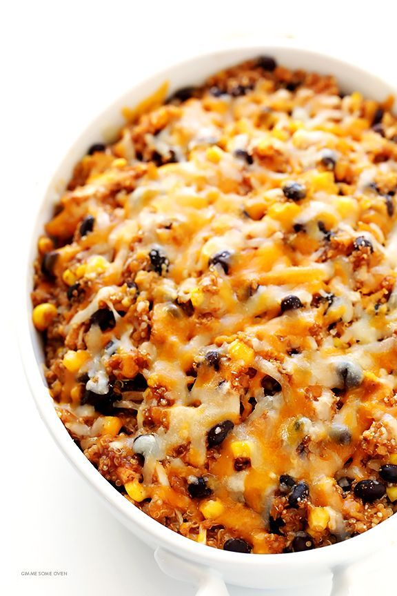 Photo of BBQ Chicken Quinoa Casserole | Gimme Some Oven