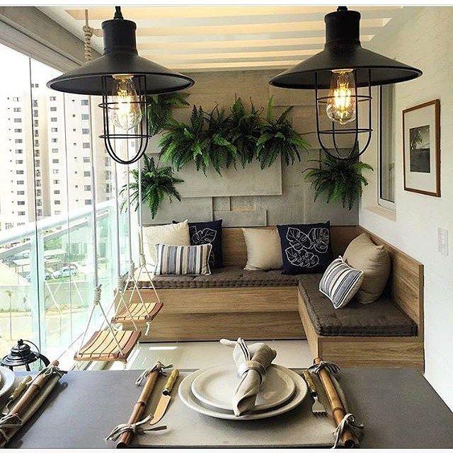 Apartamento Varanda Sacada House Ideas Casa Pinterest