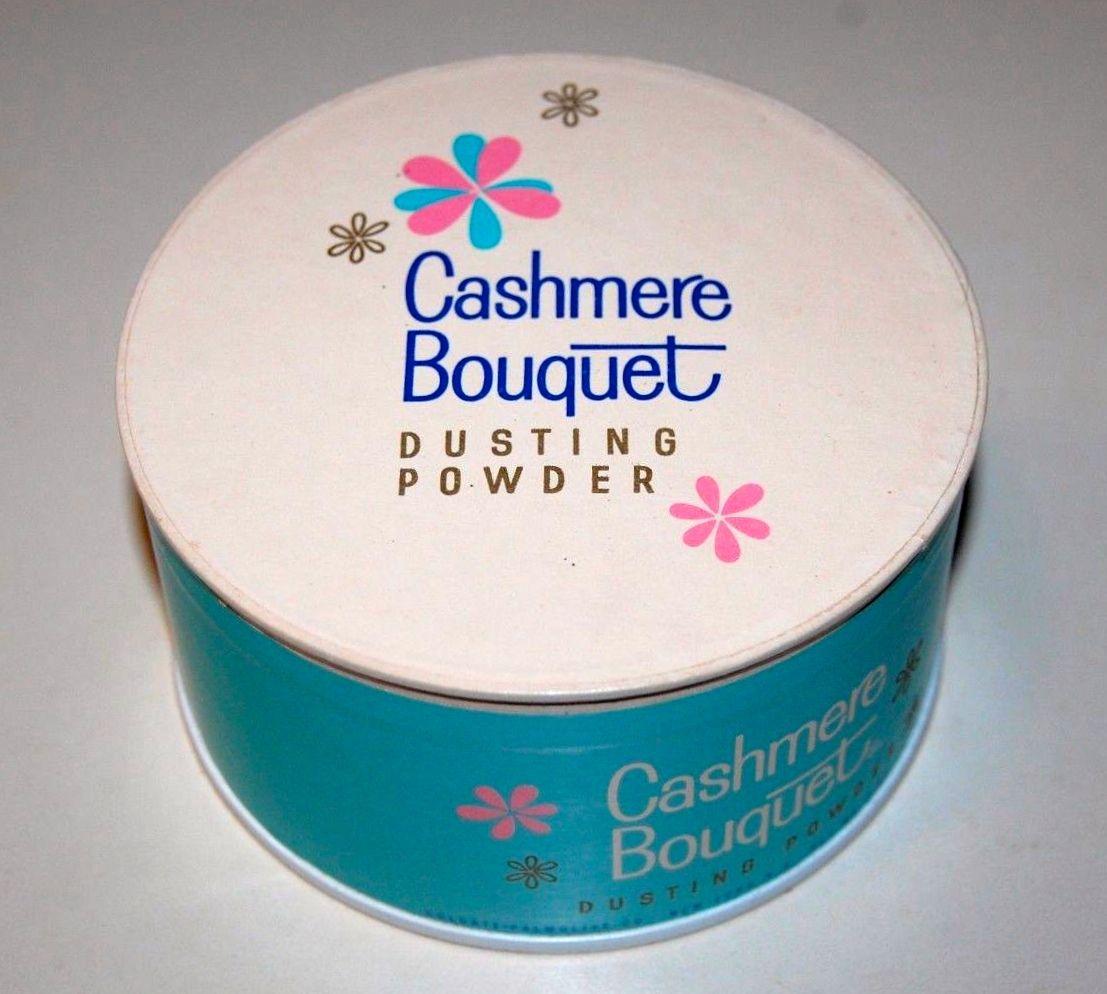 Cashmere Bouquet Dusting Powder   Powder puff, Dusting powder, Vintage  cosmetics