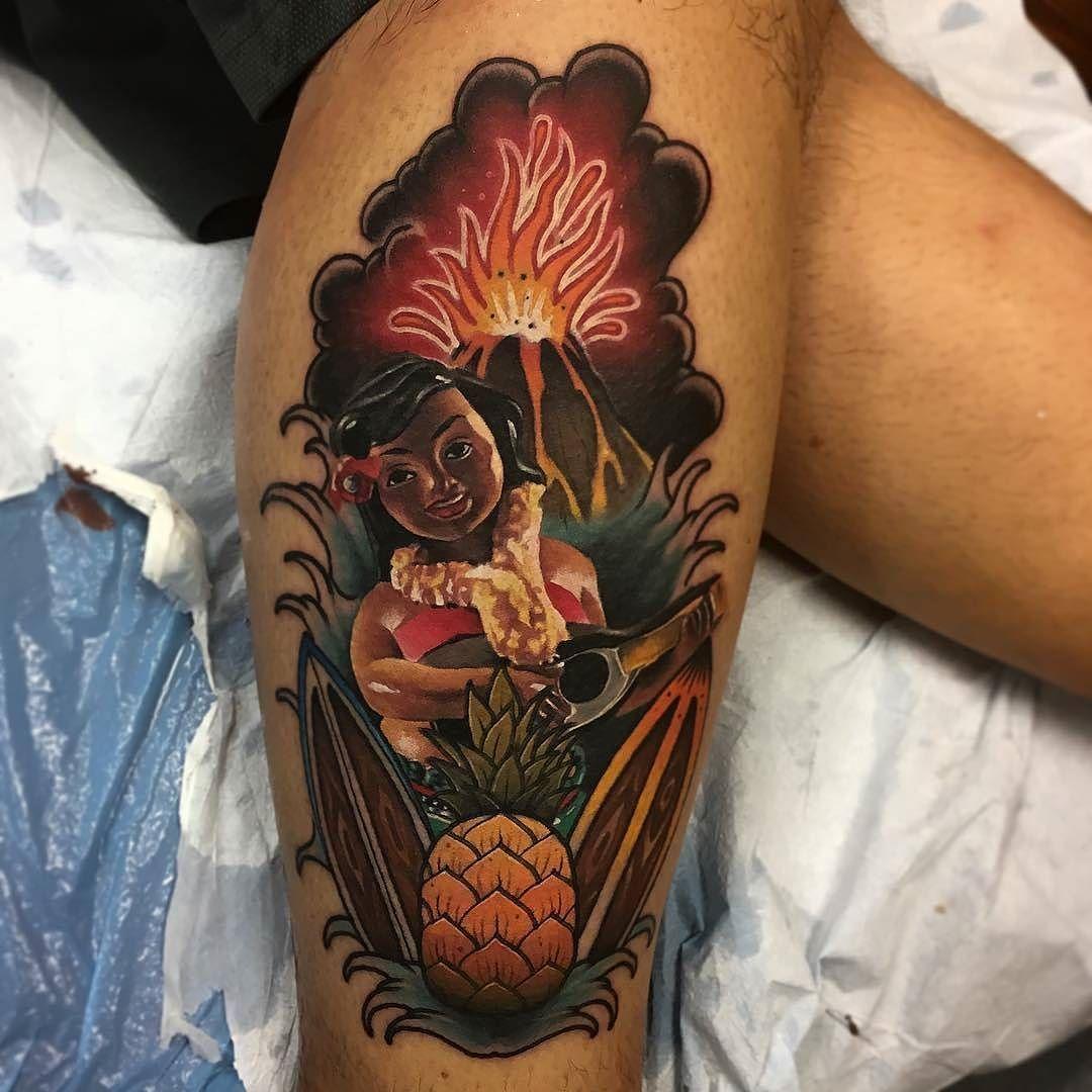 сейчас гавайские тату фото ремонтные