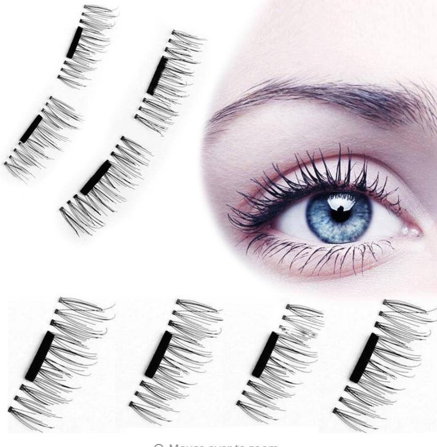 b09308ae493 Magnetic Eyelashes (Set Of 4) | Fashion | Pinterest | Magnetic ...