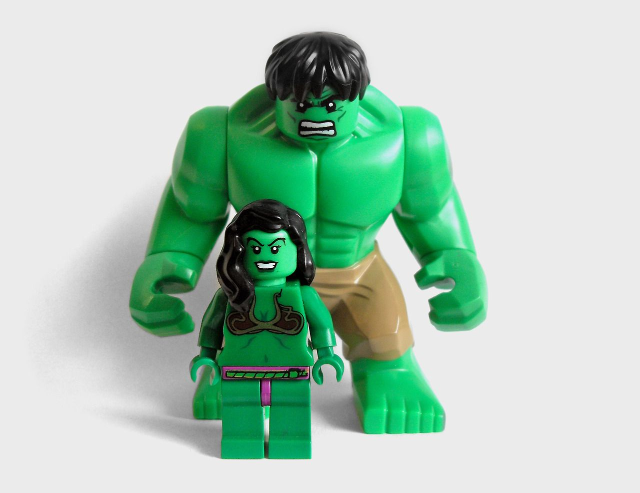 marvel - he and she hulk | My Lego Collection | Pinterest