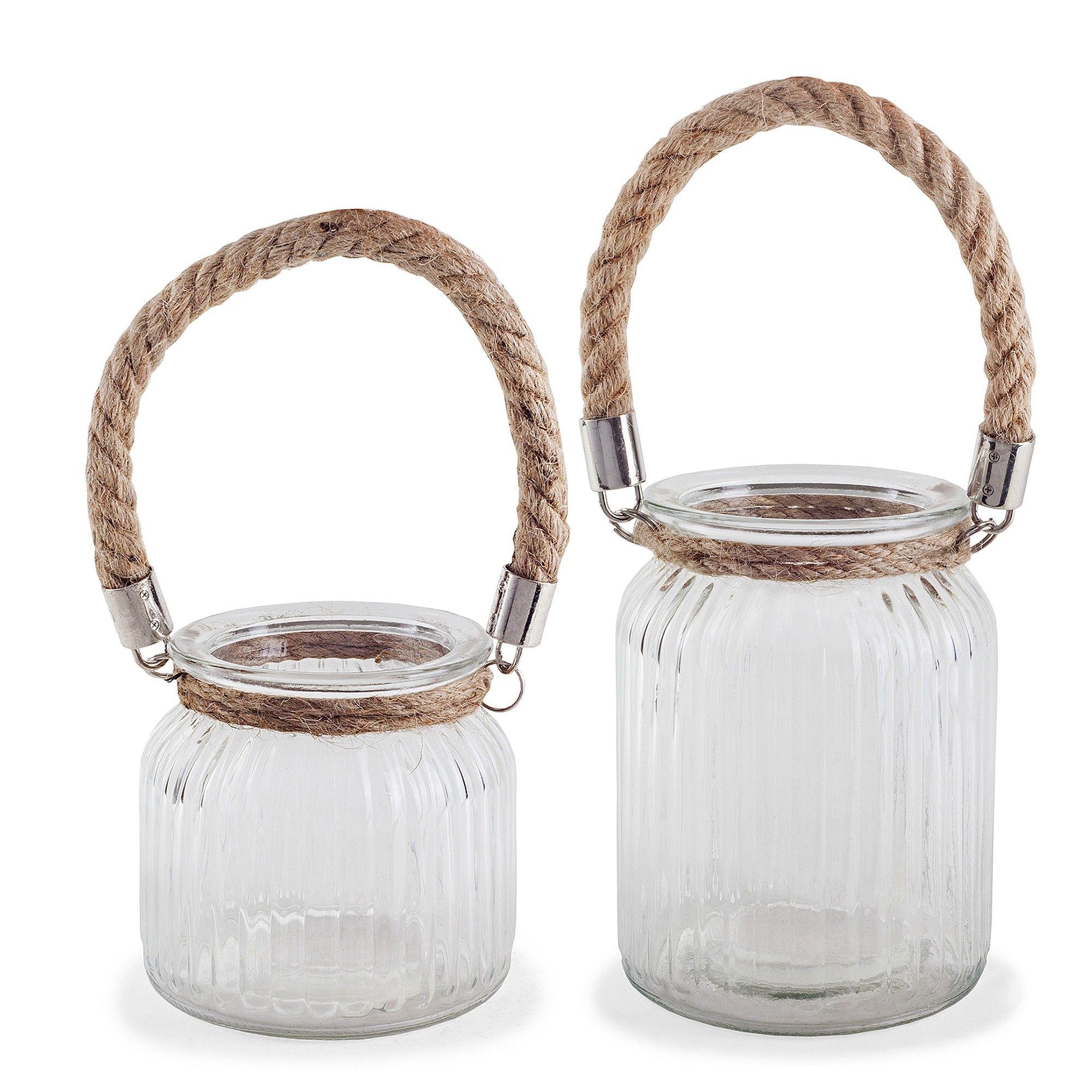 Glass Windlights Coastal Design Glass Windlight Candle Holders Glass Jar Candles Large Glass Bottle Nautical Glass
