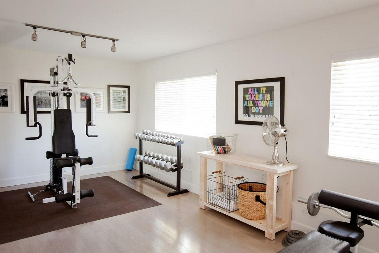 Dorable Home Gym Designs Picture Collection - Home Decorating ...