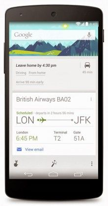 Google Now On Android Gets Ok Google Search In Uk Canada App