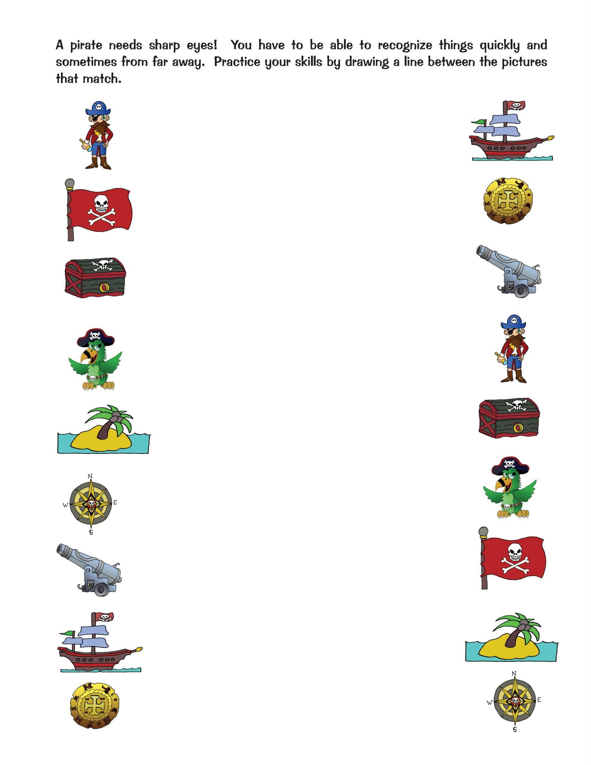 More Pirate Worksheet Fun Kids Story Books Kindergarten Learning Activities Activity Workbook [ 2560 x 1978 Pixel ]