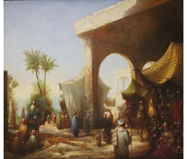 Q54 Costa Jr. Mercado árabe OST assinado no CID .