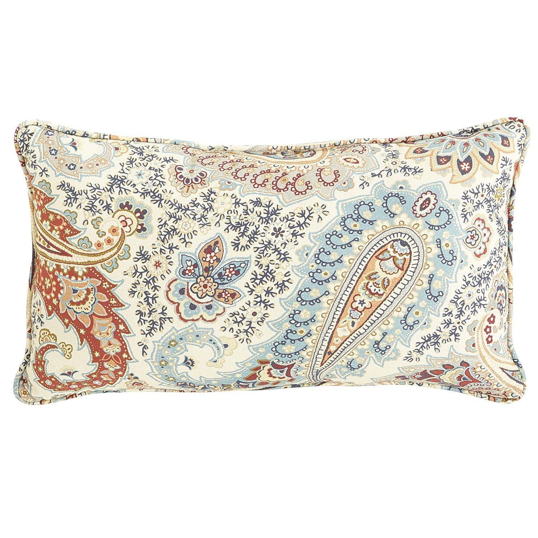 ashby paisley lumbar pillow pier 1