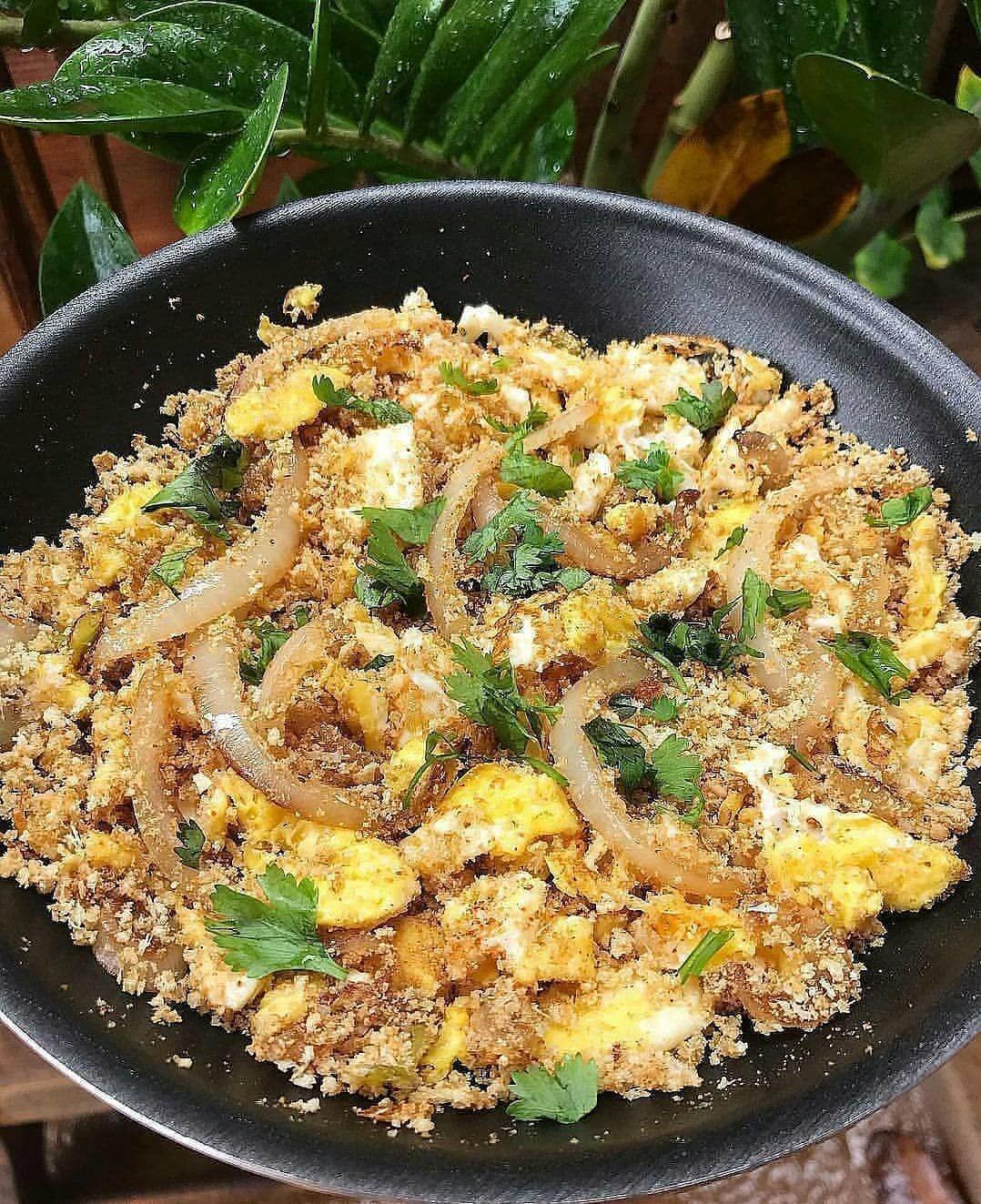 Uma farofa bem deliciosa é a nossa dica bem fit pra hoje. 😋😋😍 - ➖ Uma ótima alternativa para perda d...