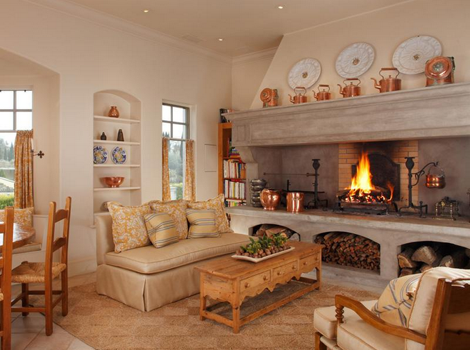 C L A S S Y In The City Fall Living Room Home Kitchen Fireplace