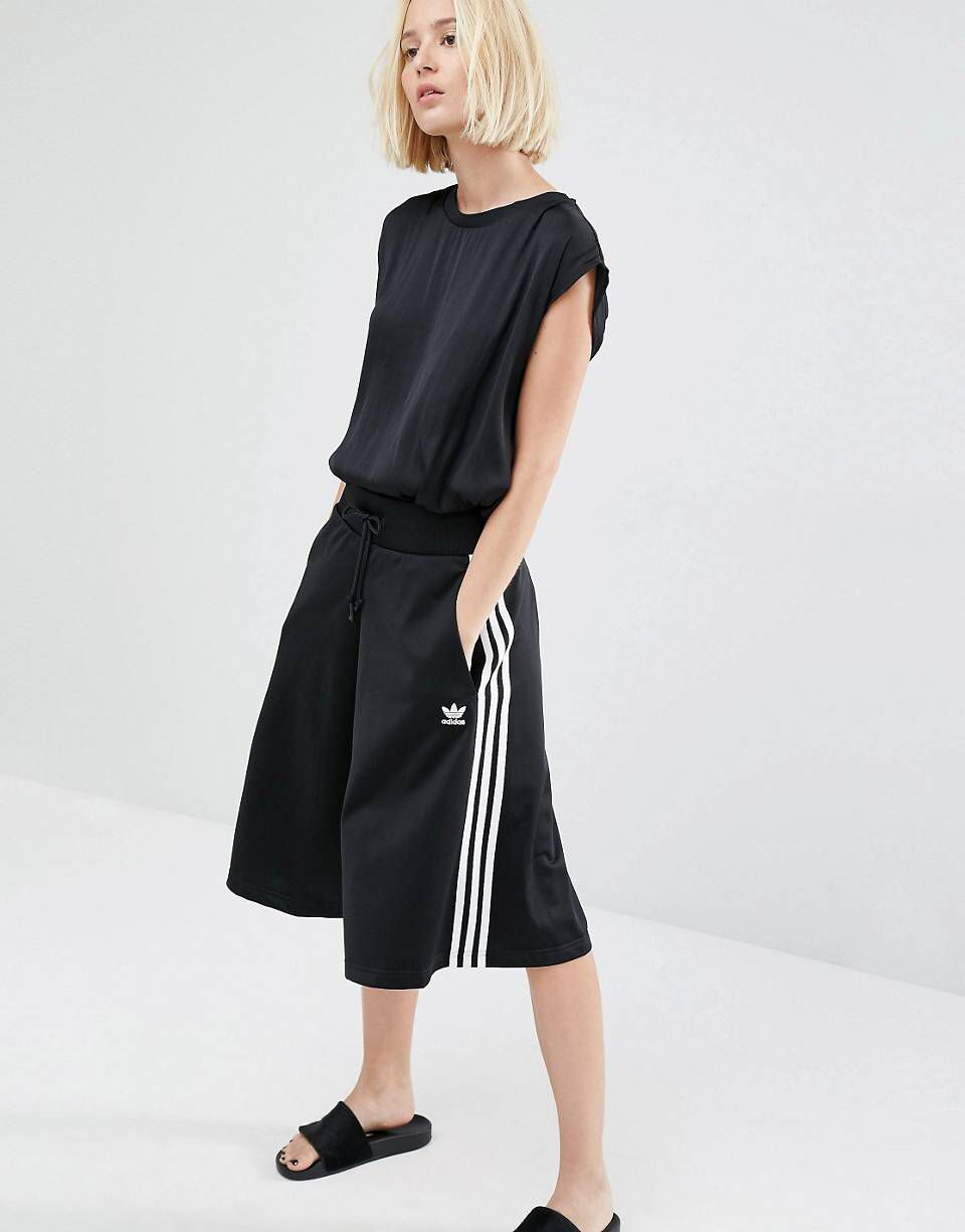 3ccc804e80d6 adidas Originals Three Stripe Culottes