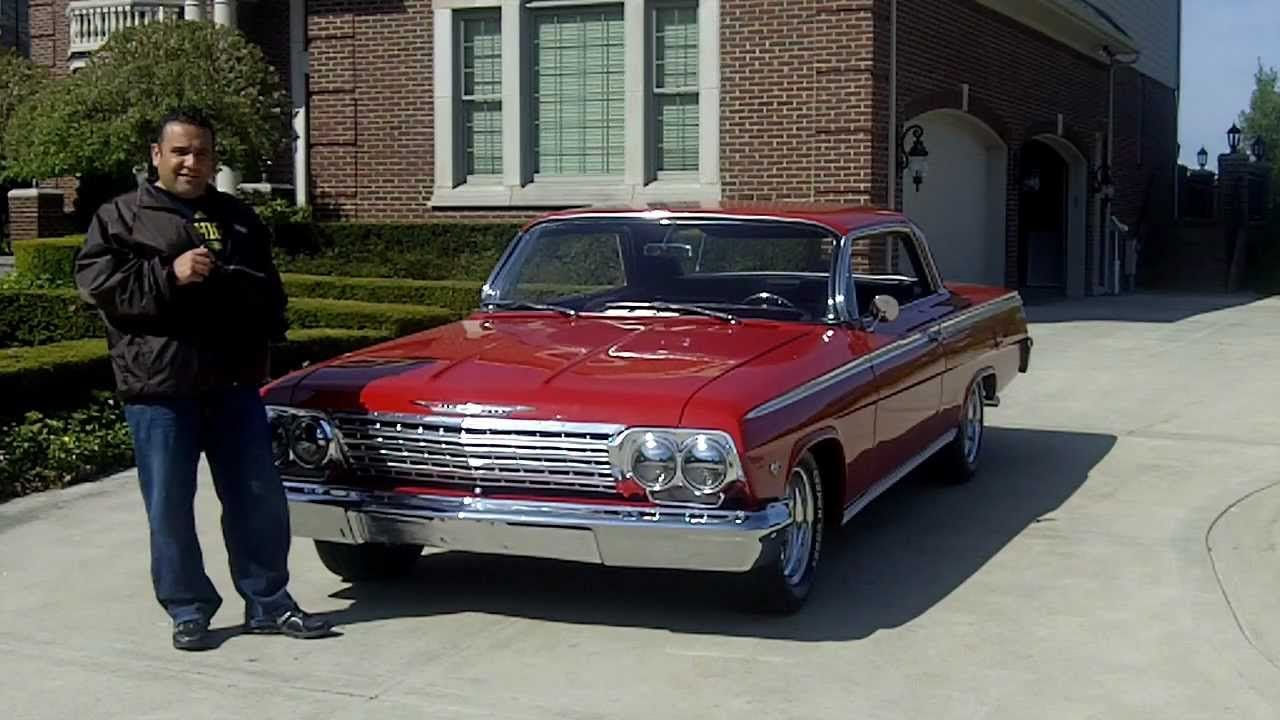 1962 Chevy Impala SS Classic Muscle Car for Sale in MI Vanguard ...