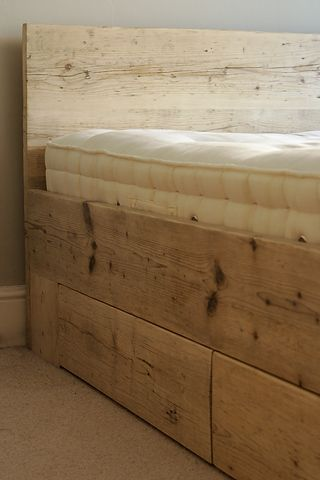Reclaimed Scaffolding Bed - Tom Robinson Handmade Furniture from ...