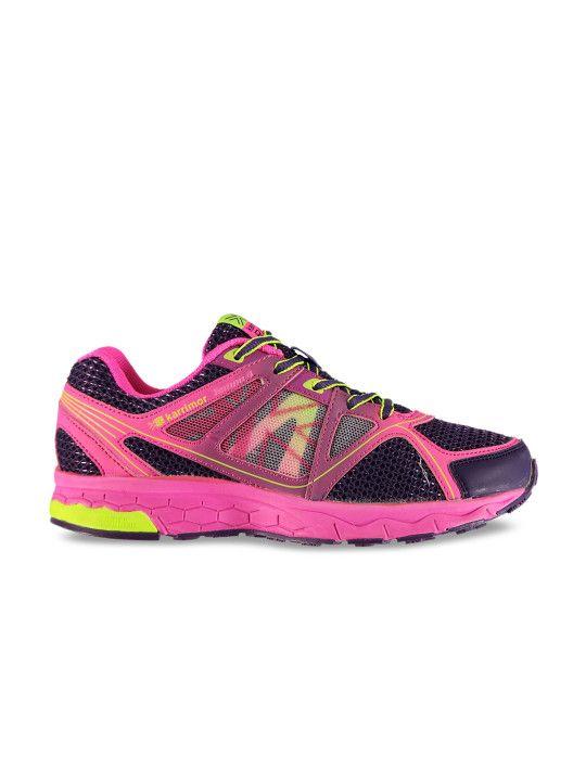 35b561e3b06 Karrimor Girls Black   Pink Training Shoes -