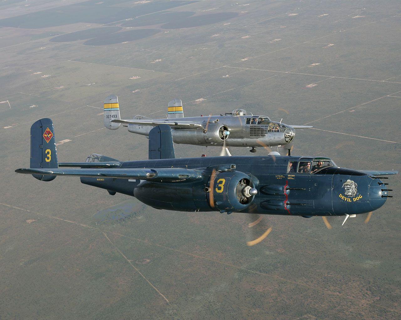 B-25's