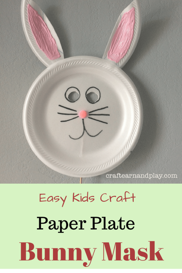 How To Make Paper Plate Bunny Mask in 5 Simple Steps & How To Make Paper Plate Bunny Mask in 5 Simple Steps | Bunny mask ...