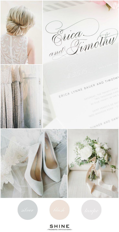 Soft Neutral Wedding Inspiration | Lace wedding dresses, Lace ...