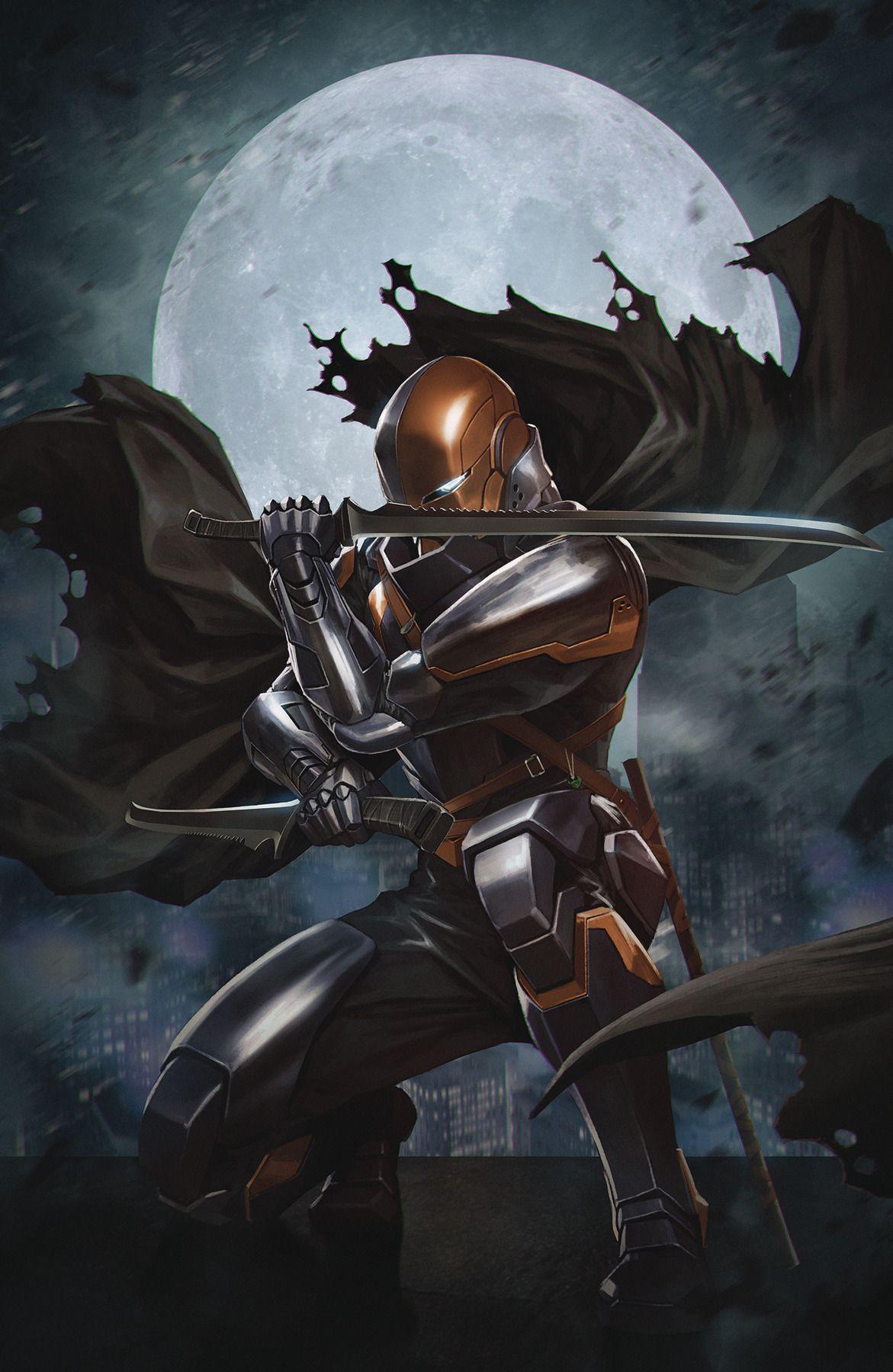 New Comic Book Art! — Deathstroke (Skan)