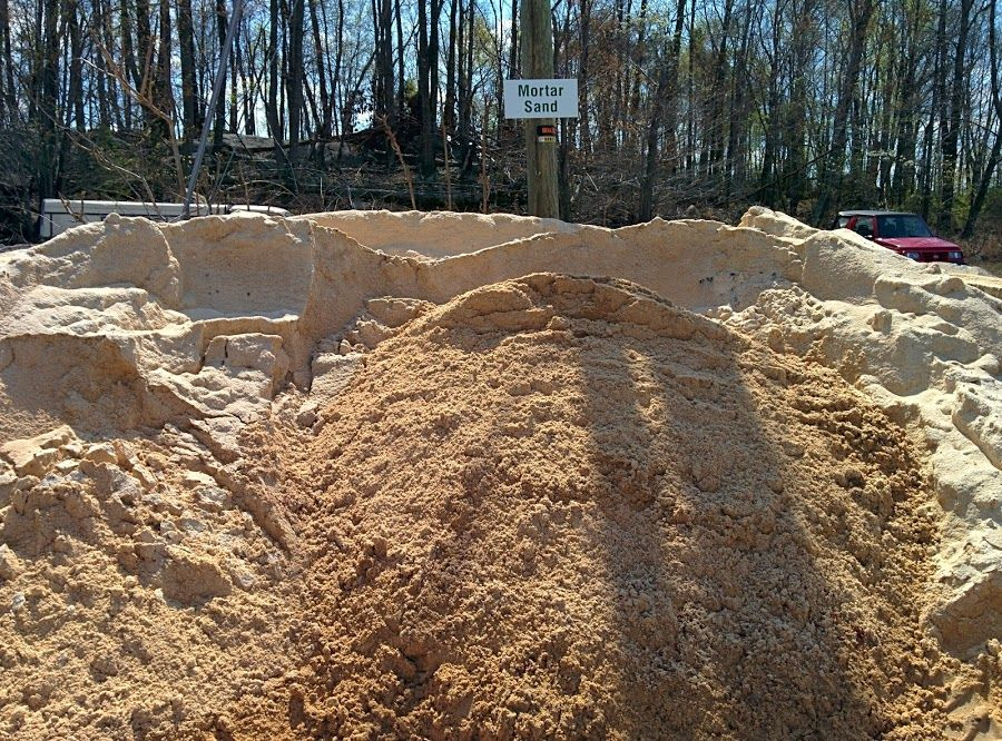 Our Mortar Sand Is Finely Textured Clean And Sharp Angled The Angularity Of Mortar Sand Causes It To Interlock As Well Landscaping Supplies Pavers Landscape