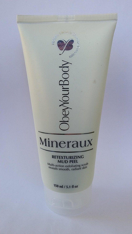 Dead Sea Obey Your Body MINERAUX Retexturizing Mud Peel 150 ml / 5.1 ...