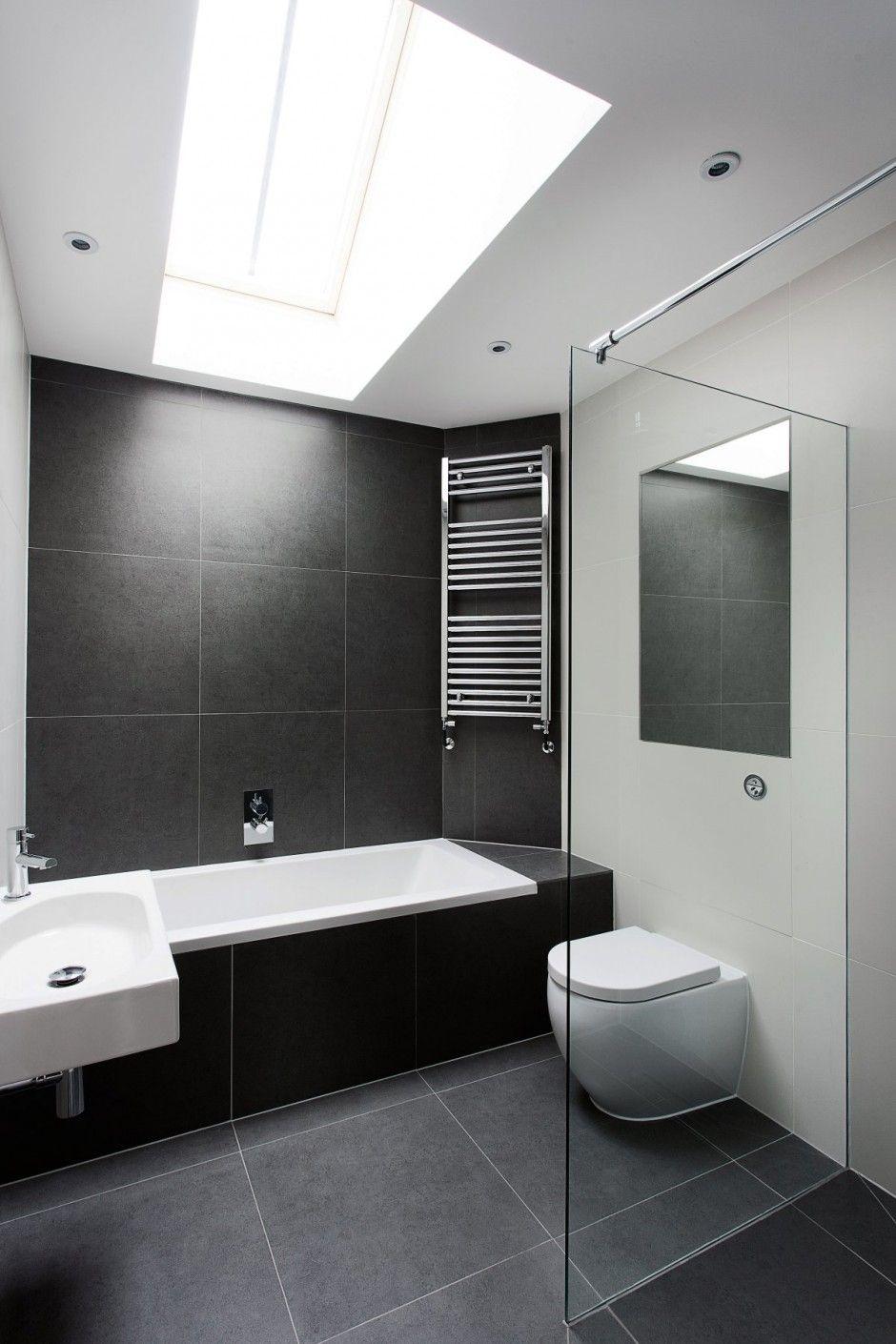 Badezimmerdesign graue fliesen ook in uw badkamer is het fijn om voldoende daglicht te ontvangen