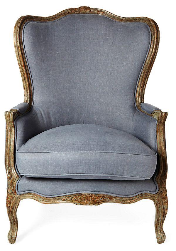 One Kings Lane - Furniture Bazaar - Viviane Chair
