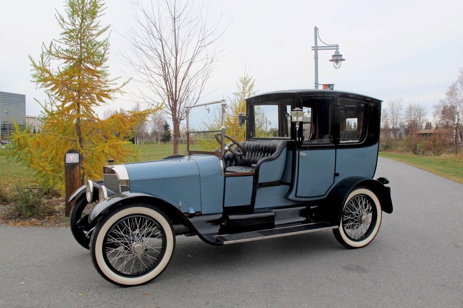 1918 biddle town car the biddle motor car company for Antique car decor