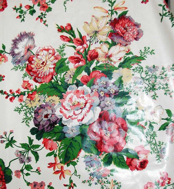 Mario buatta multicolor floral chintz fabric from early for Chintz fabric