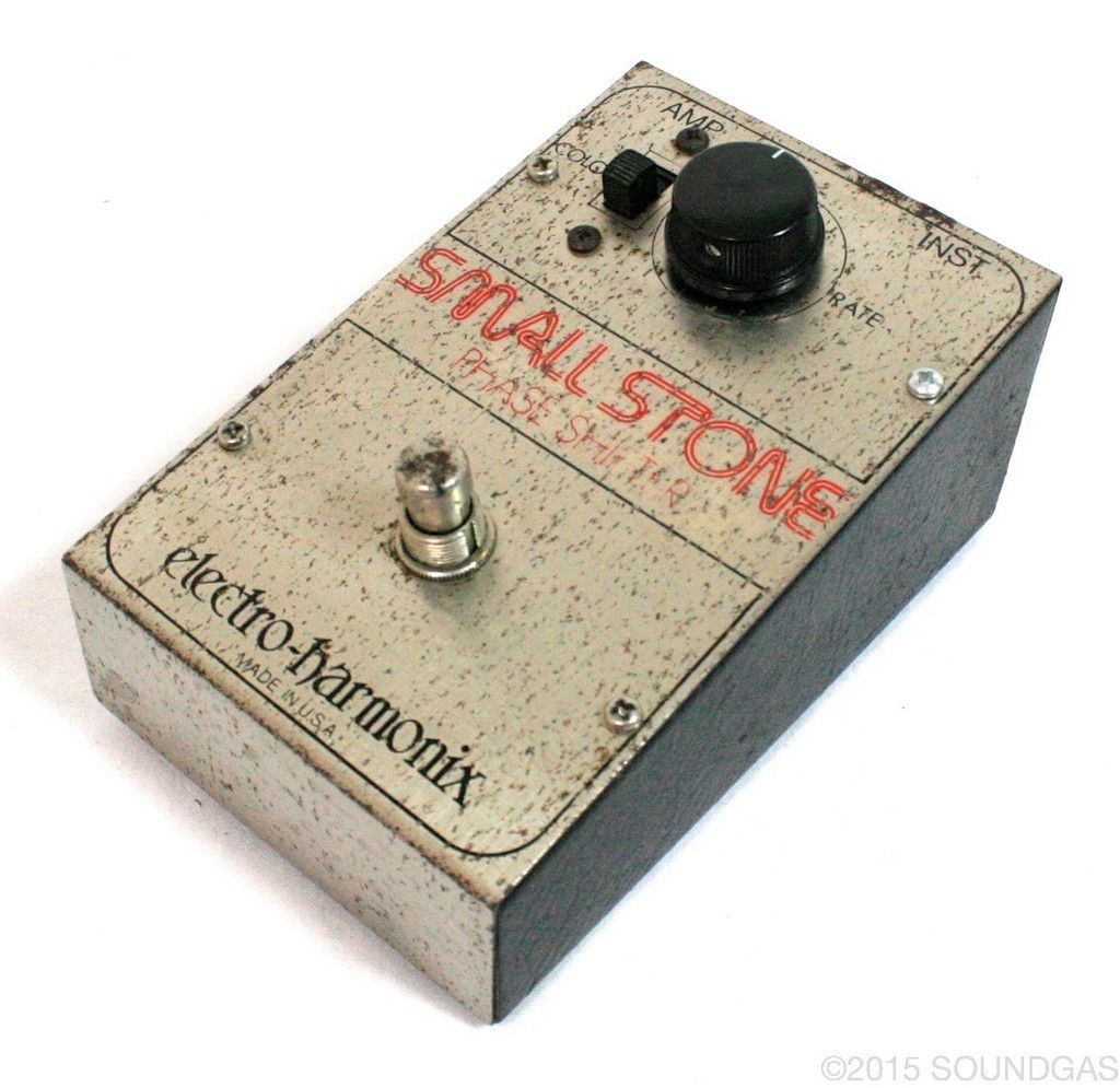 Electro Harmonix Small Stone V1 For Sale In 2020 Guitar Rig Vintage Guitars Guitar Pedals