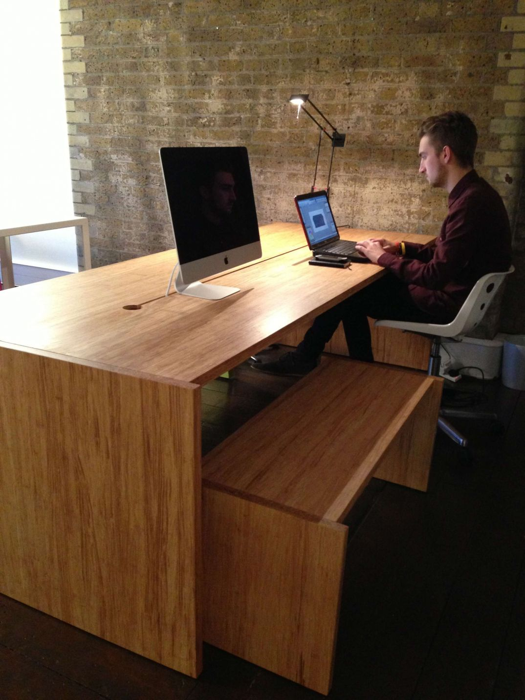 Bamboo Office Desk Executive Home Furniture Check More At Http Michael