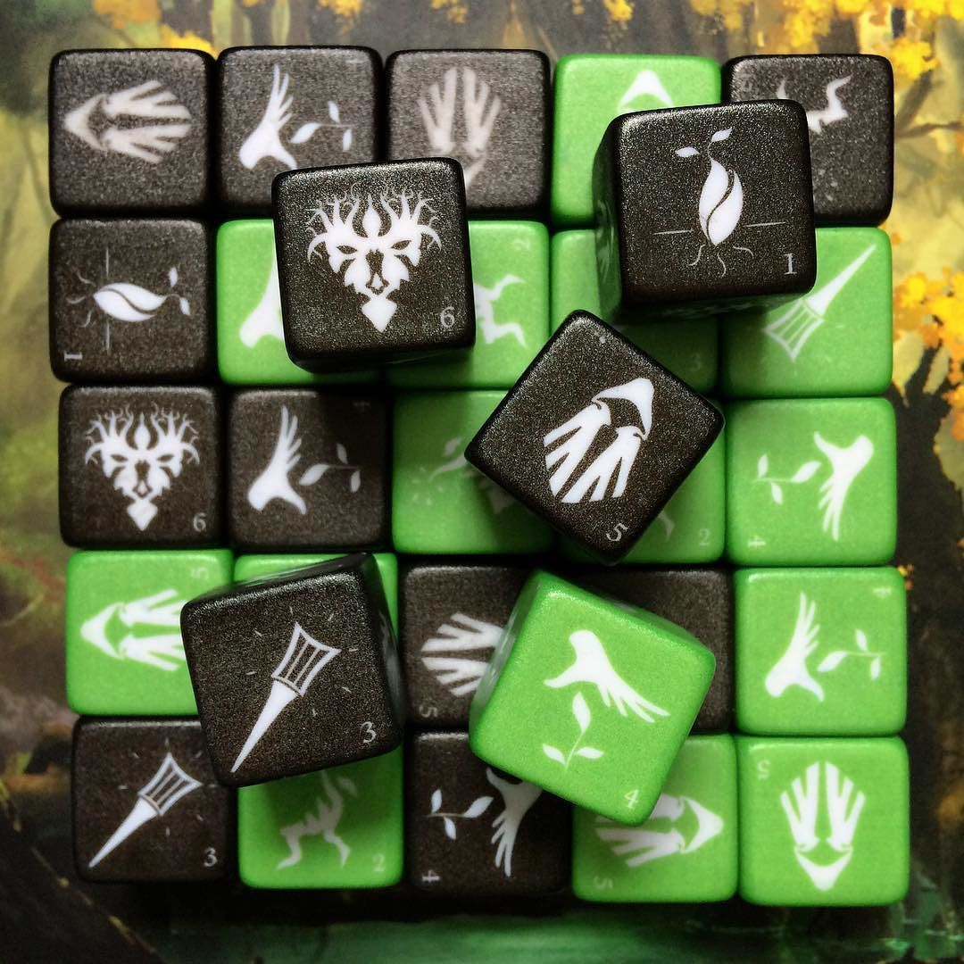 RootsOfMali prototype dice. Roots of Mali by