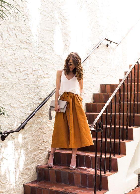 Wie man einen Midirock diesen Sommer stylt: 15 Ideen – Mode Tipps