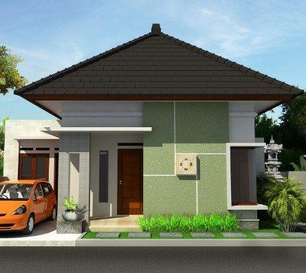 gambar rumah minimalis 1 lantai 2 kamar tidur (dengan