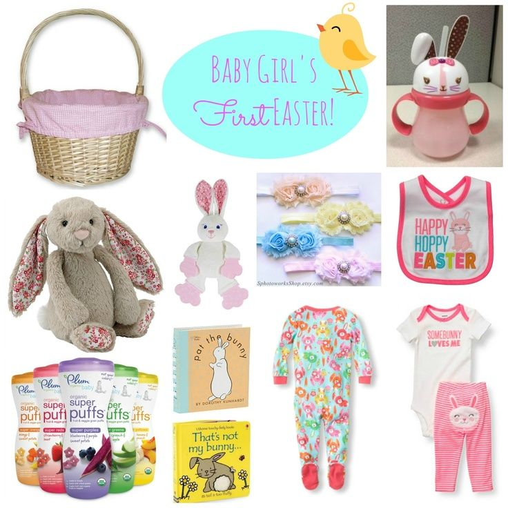 Girls first easter basket baby girls first easter basket ideas girls first easter basket baby girls first easter basket ideas with links for purchasing easter pinterest basket ideas easter baskets and negle Images