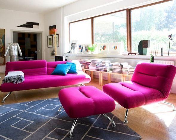 Fancy Comfortable Living Room Furniture Festooning - Living Room ...