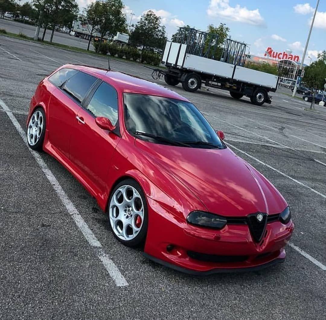 "Alfa Romeo Passion On Instagram: ""Rosso 156 GTA SW"