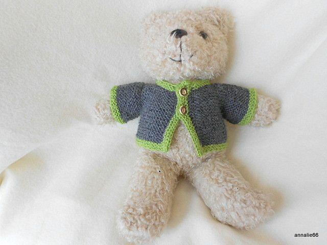 Teddys Mütze mit Glöckchen für 20-25cm Teddy Bären