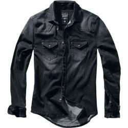 Herrenjeanshemden & Herrenjeansblusen #leatherjacketoutfit