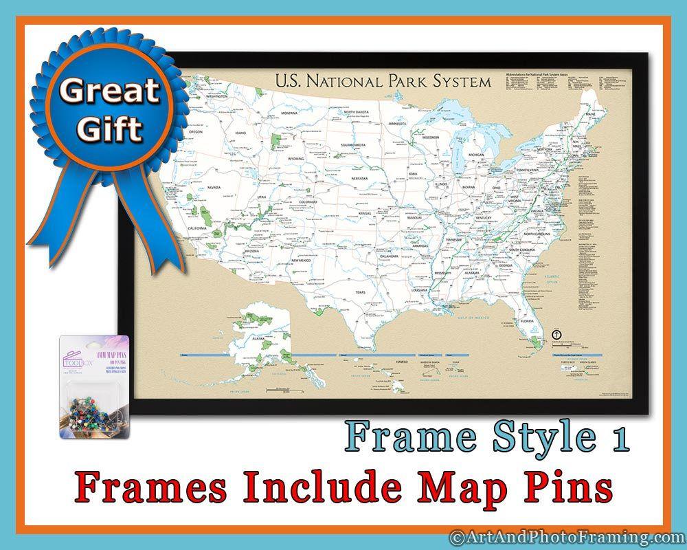 Push pin travel map usa national parks push pin map us pushpin map push pin travel map usa national parks push pin map us gumiabroncs Choice Image