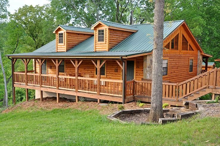 simple log home - Google Search