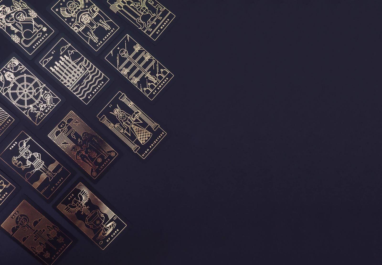 Golden Thread Tarot Deck Con Immagini