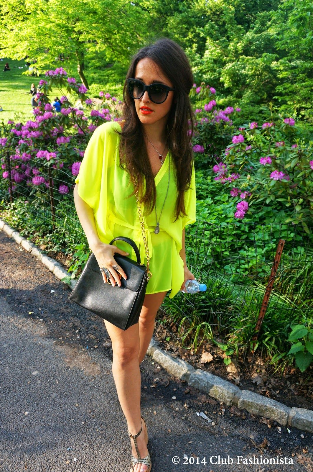 Styling tips--BEST neon outfits ideas: http://www.clubfashionista.com/2014/06/fashion-trends-pop-of-neon.html  #clubfashionista #ootd #style #fashionista #neoncolors #fashion